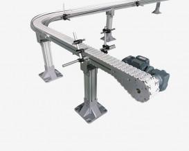 Flexible Slat Chain Conveyors
