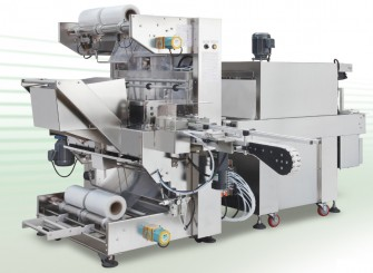 Automatic counting and grouping machine