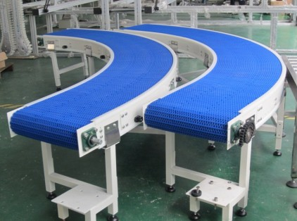 Modular Plastic Belt Conveying Systems