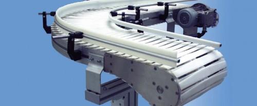Flexible Aluminum Slat Chain Conveyors System